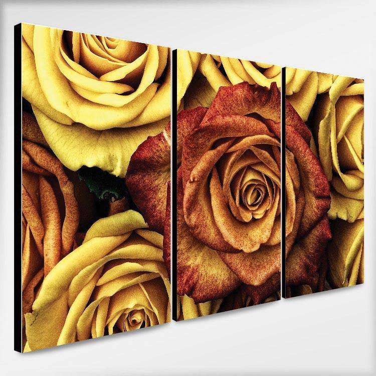 ให้ของขวัญด้วย ภาพติดผนัง ดอกกุหลาบ