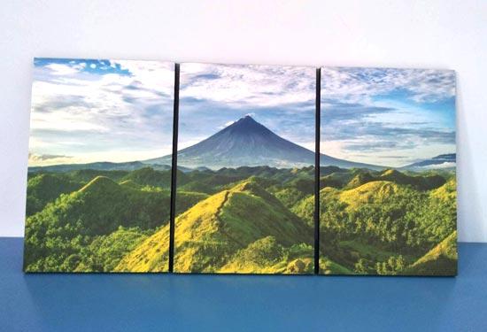 ภาพติดผนังผนัง ธรรมชาติ ภูเขา ต้นไม้