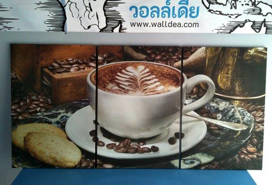 รูปติดผนัง แต่งร้านกาแฟ