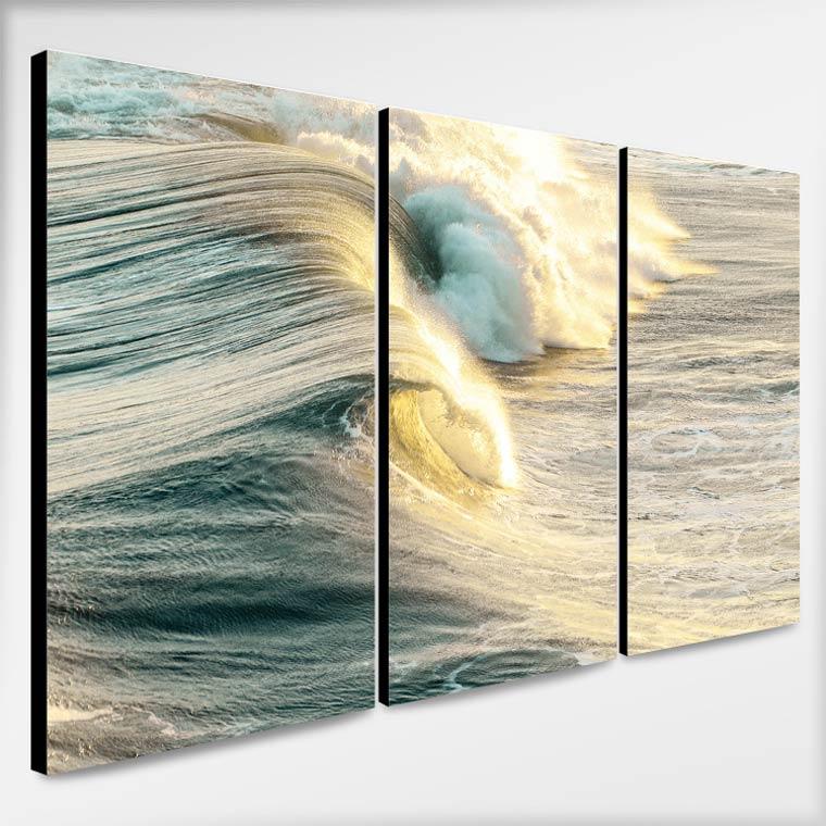 ภาพพิมพ์ Canvas รูปคลื่นทะเล