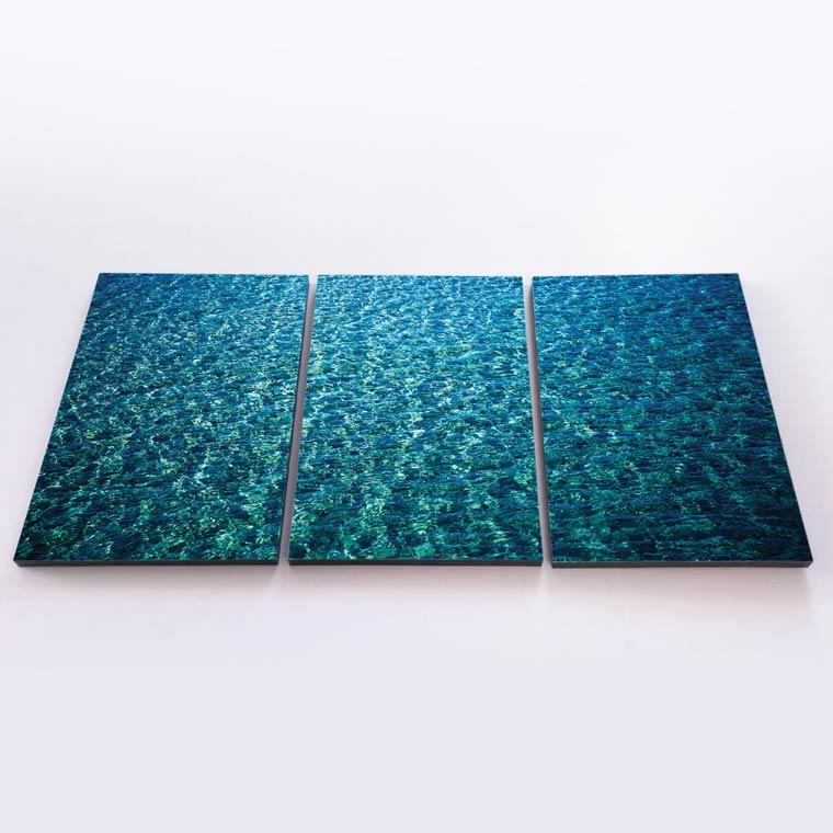 พิมพ์ภาพ Canvas ติดผนัง วิวน้ำทะเล