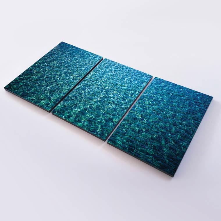 ภาพพิมพ์ แคนวาส รูปน้ำทะเล ใสๆ