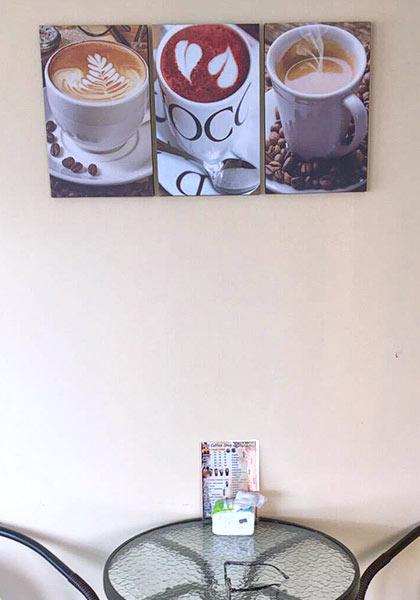 ภาพติดผนัง แต่งร้านกาแฟ สวยๆ