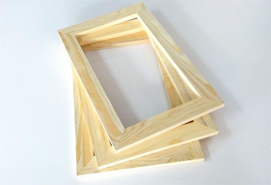 กรอบไม้สำหรับทำ กรอบรูปลอย แคนวาส