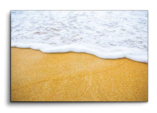 รูปติดผนัง อาร์ตๆ คลื่น ชายหาด ทะเล