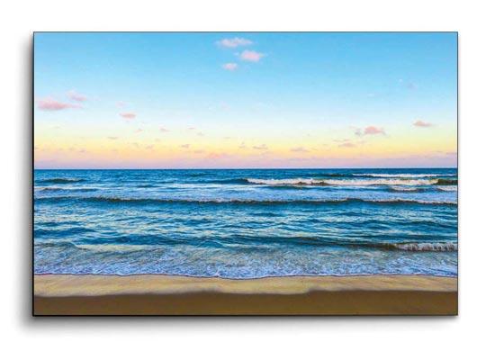 กรอบรูปแคนวาส ทะเล แต่งห้องสีฟ้า