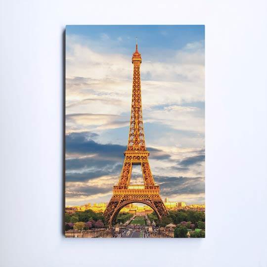 ภาพติดผนัง ห้องนอน หอไอเฟล ปารีส ฝรั่งเศส