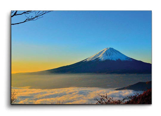 รูปภาพติดผนัง ภูเขาฟูจิ