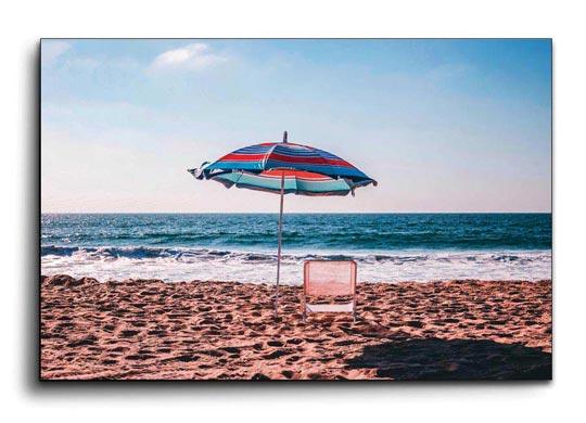 ภาพติดผนัง ชายหาด