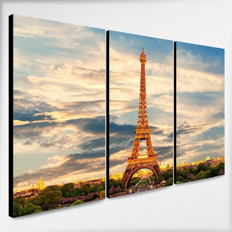 รูปติดผนัง วิวเมืองนอก ปารีส หอไอเฟล