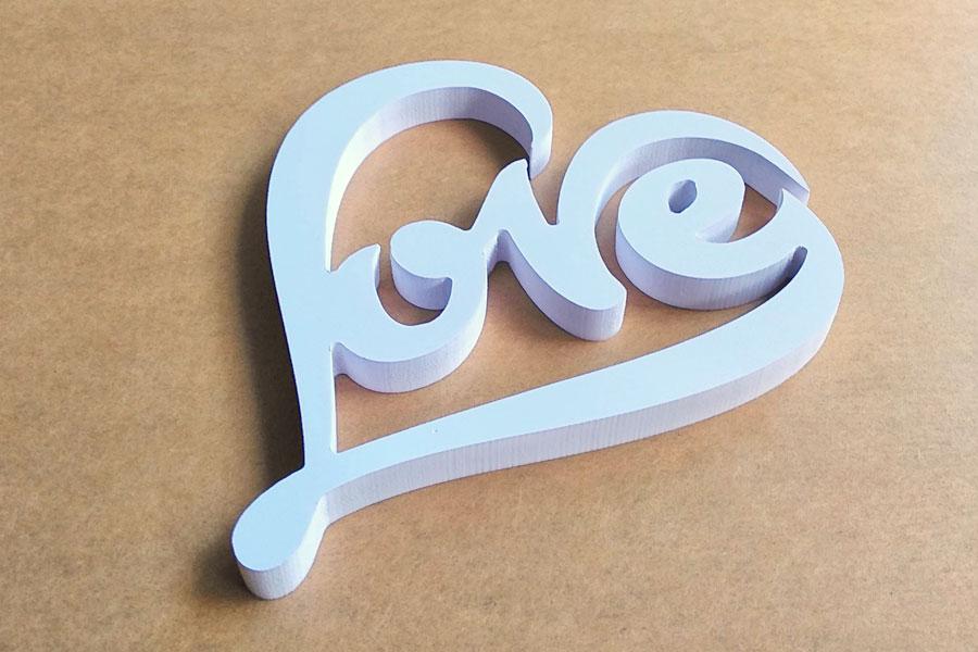 ตัวหนังสือ LOVE ของขวัญ ให้แฟน