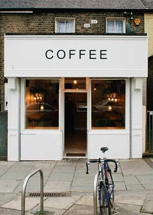 ตัวอักษร ป้ายหน้าร้านกาแฟ Coffee
