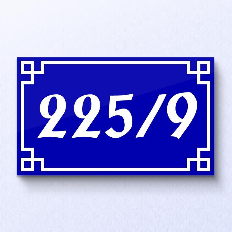 ป้ายบ้านเลขที่ อะคริลิก ลายจีน