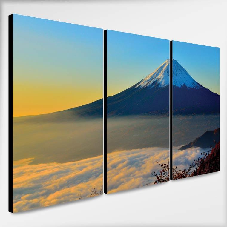 ภาพติดผนัง ธรรมชาติ ภูเขาไฟฟูจิ