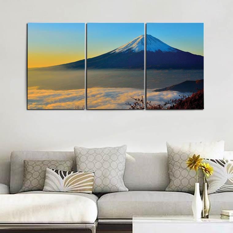 แต่งห้องสไตล์ญี่ปุ่น กรอบรูป ภูเขาไฟฟูจิ