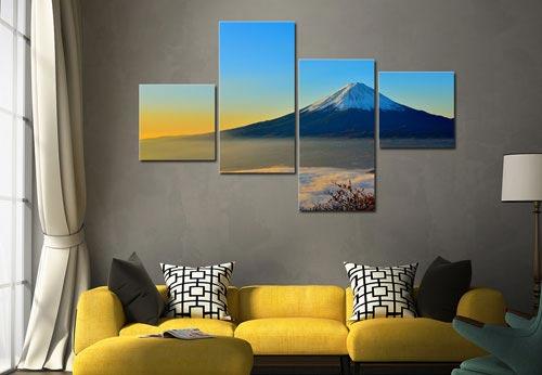 รูปติดผนัง โมเดิร์น ภูเขาไฟฟูจิ