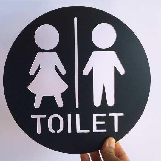 ป้ายห้องน้ํา น่ารักๆ ป้ายห้องน้ำหญิง ชาย
