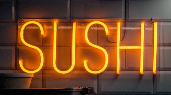 ป้ายไฟนีออนเฟล็กซ์ Neon Flex ตัวอักษรดัด ชื่อร้านอาหาร