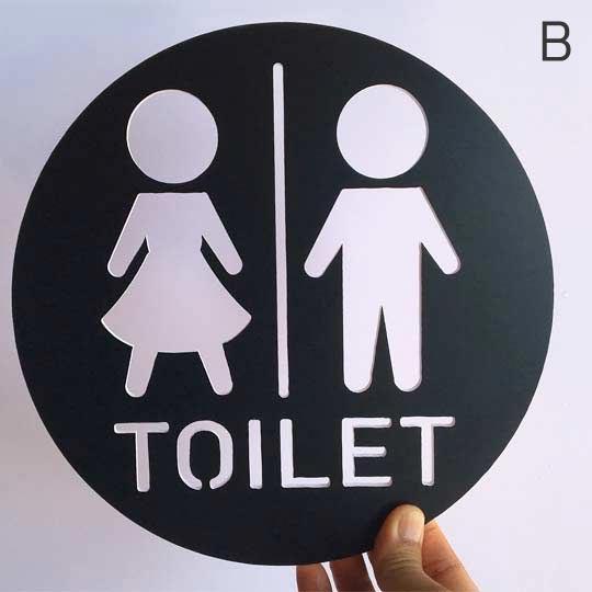 ป้ายบอกทางห้องน้ำ ราคาถูก